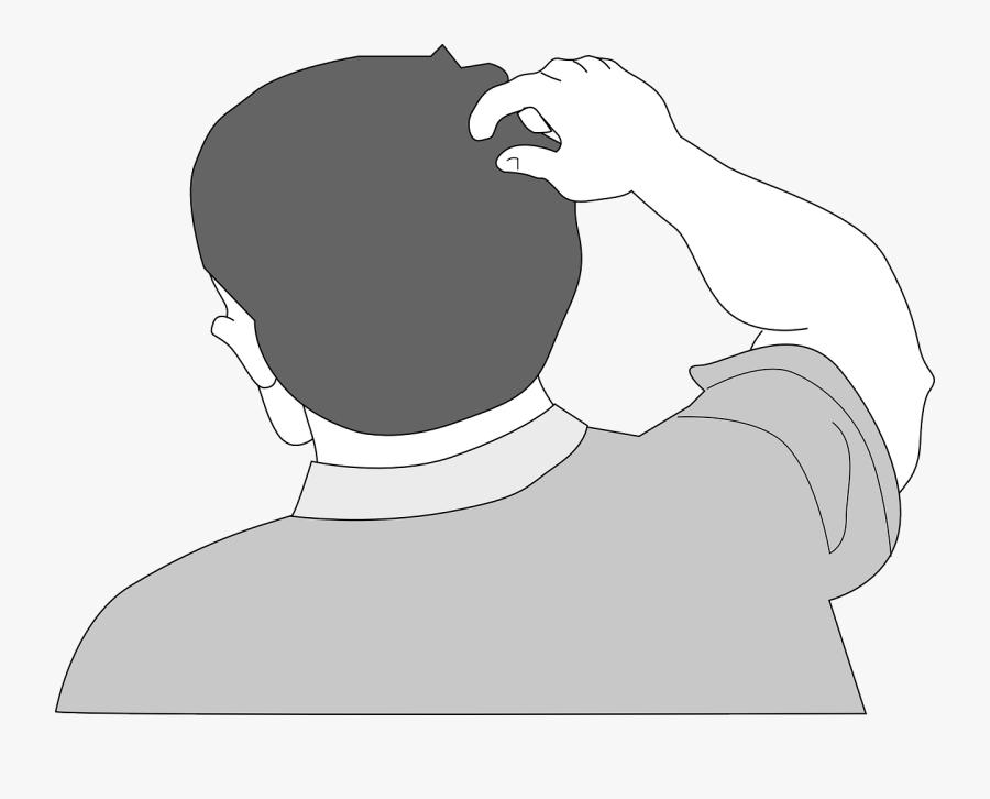 Clipart Back Of Head, Transparent Clipart