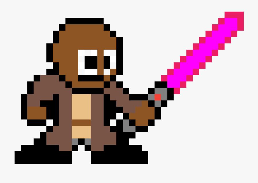 Pixel Art Luke Skywalker , Png Download Clipart , Png - Spider Man Ps4 Pixel, Transparent Clipart
