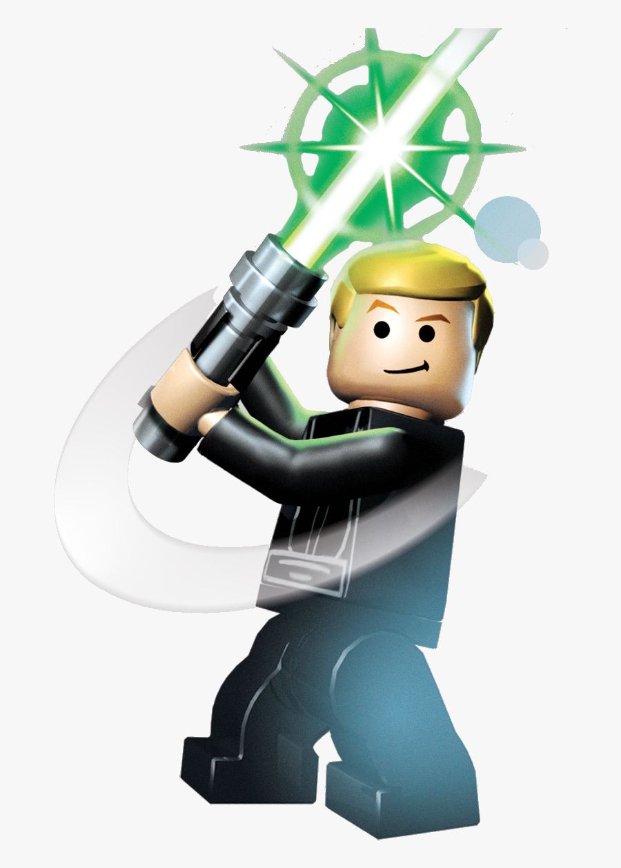 Luke Lego Star Wars, Transparent Clipart