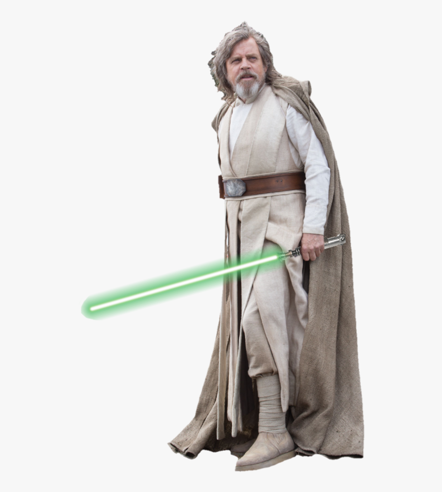 Transparent Luke Png - Star Wars Cosplay Jedi, Transparent Clipart