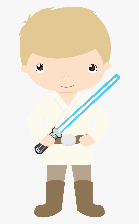 Luke Skywalker Clipart , Png Download - Elementos Star Wars, Transparent Clipart
