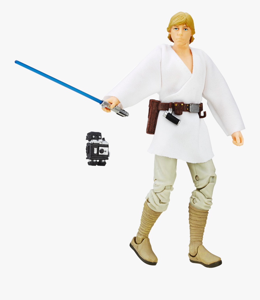 Black Series Luke Skywalker, Transparent Clipart