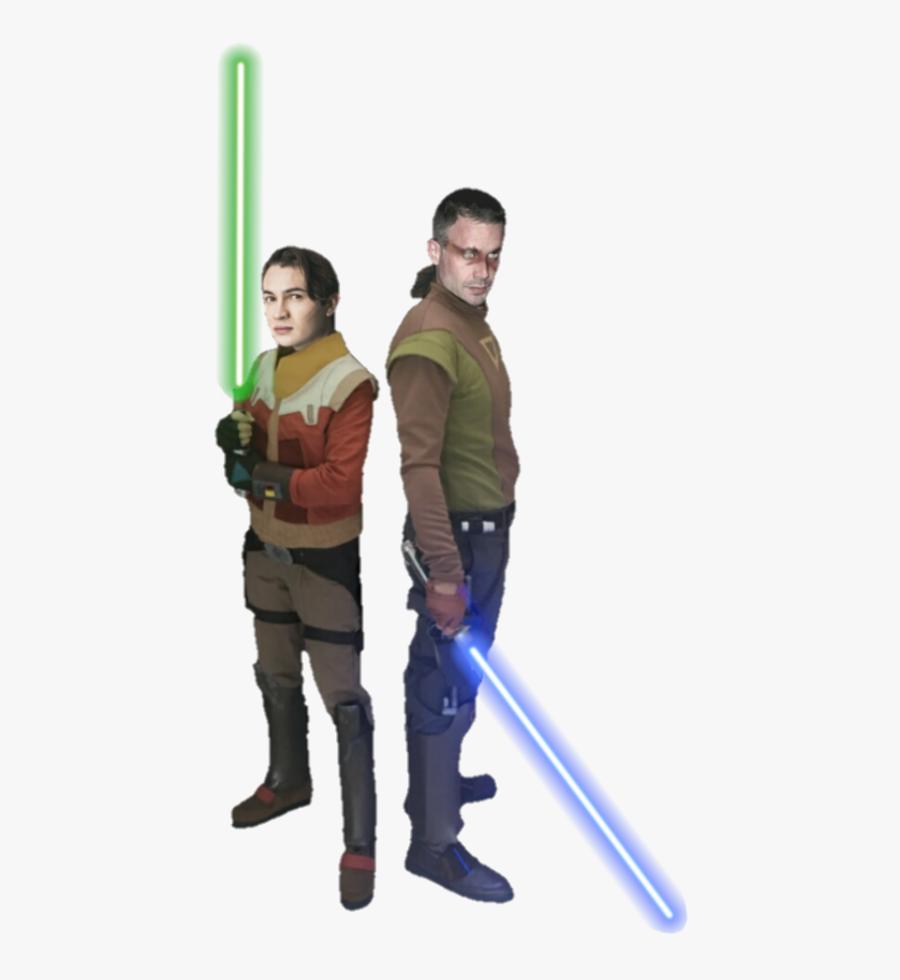 Transparent Luke Skywalker Clipart - Luke Skywalker And Ezra Bridger, Transparent Clipart