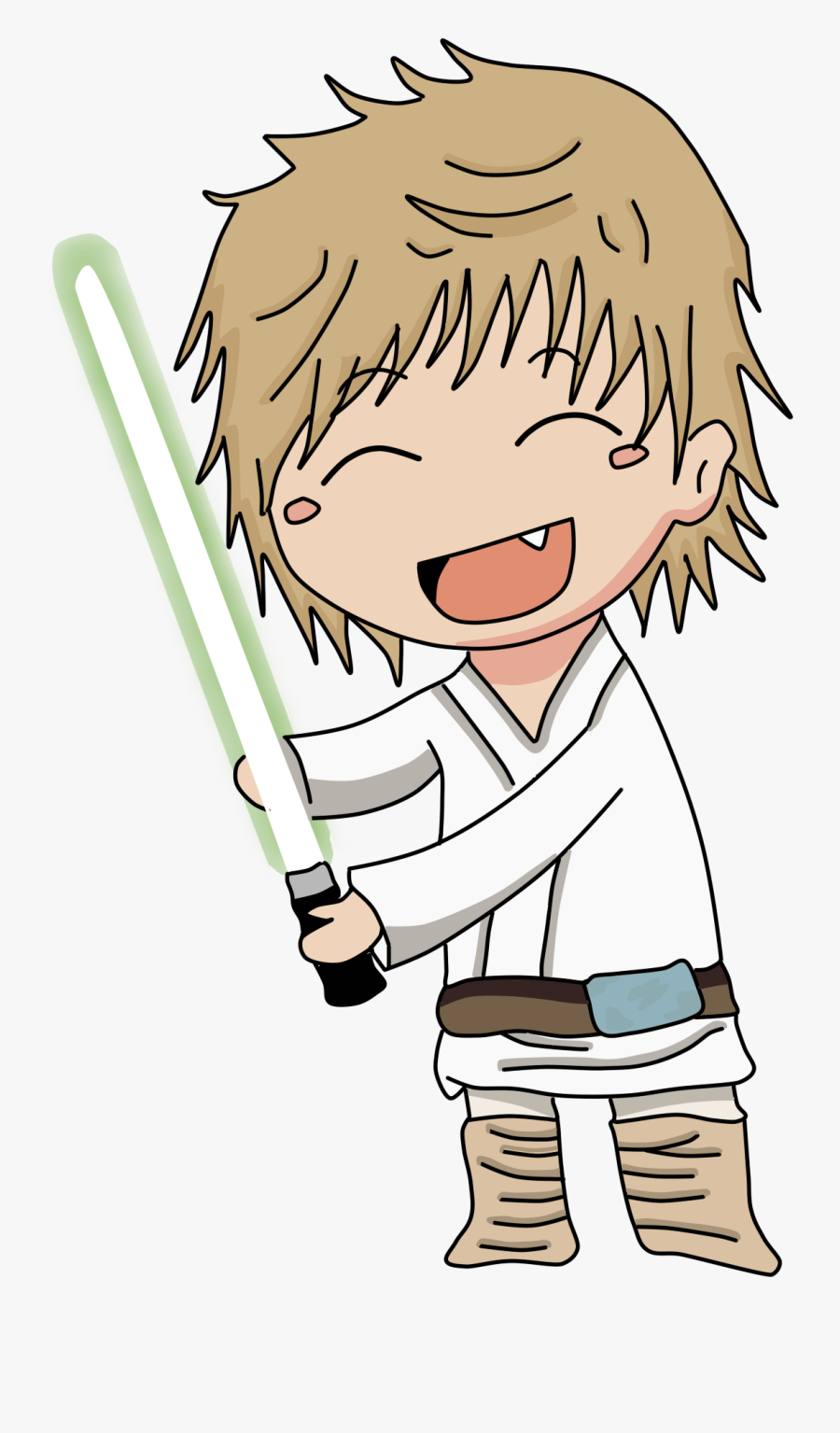 Luke Skywalker, Transparent Clipart