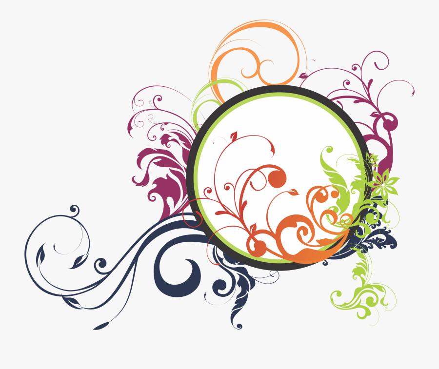 Clip Design Flora Vector Royalty Free Download - Graphic Design Line Free Download, Transparent Clipart