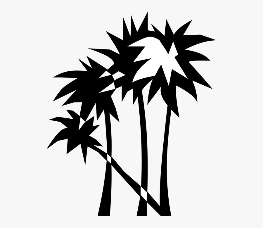 Transparent Tropical Clipart Black And White - Clip Art, Transparent Clipart