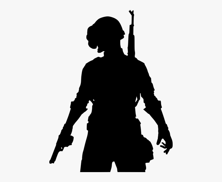 Pubg Computer Game Counter Strike - Pubg Silhouette, Transparent Clipart