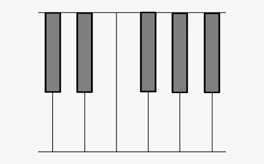 Keyboard Clipart Printable - Keys Cartoon Keyboard Piano Png ...