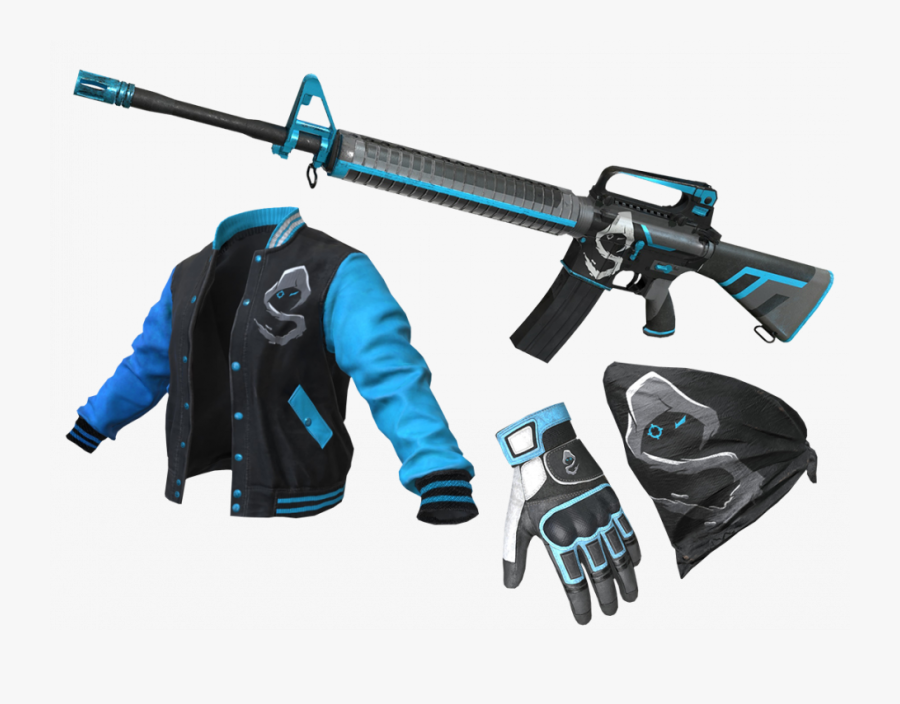 Pubg Akm Gun Png Tags Fortnight Fortnite Unreal Turnament - Shroud Skins In Pubg, Transparent Clipart