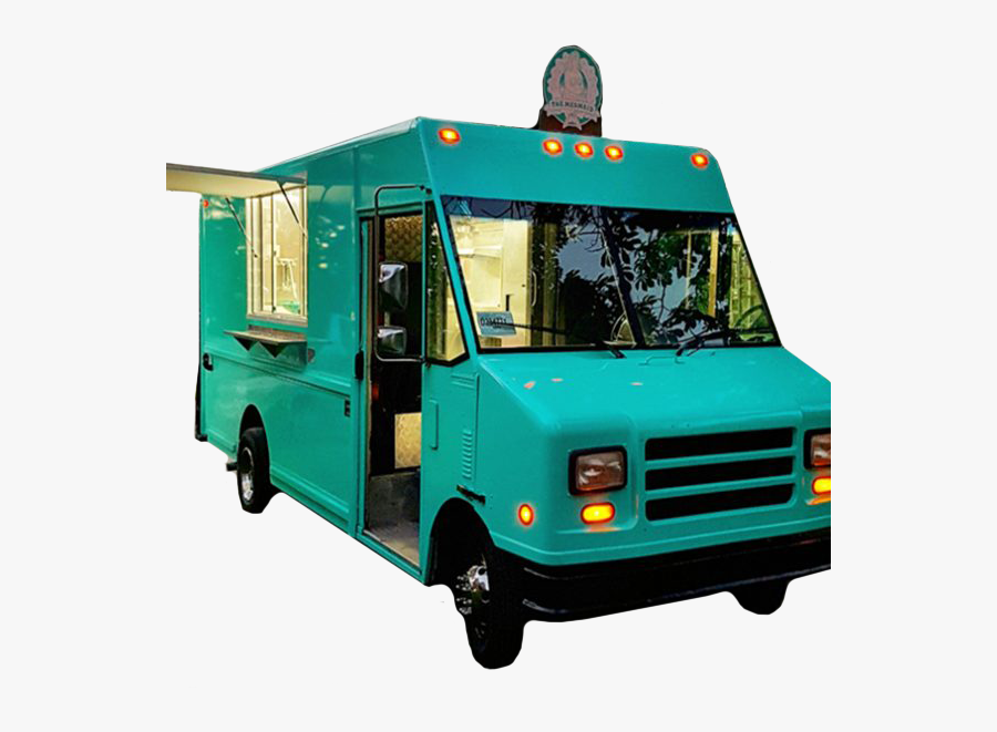 Of The Front Cover Is Anti Impact Board- - Front Of Food Truck, Transparent Clipart