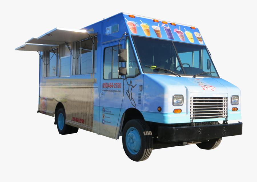 Clip Art Food Truck Graphics - Commercial Vehicle, Transparent Clipart