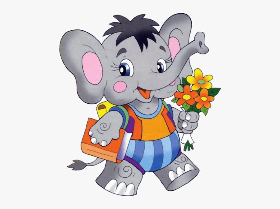 Disney Characters In School Clipart - Animals In School Clipart, Transparent Clipart