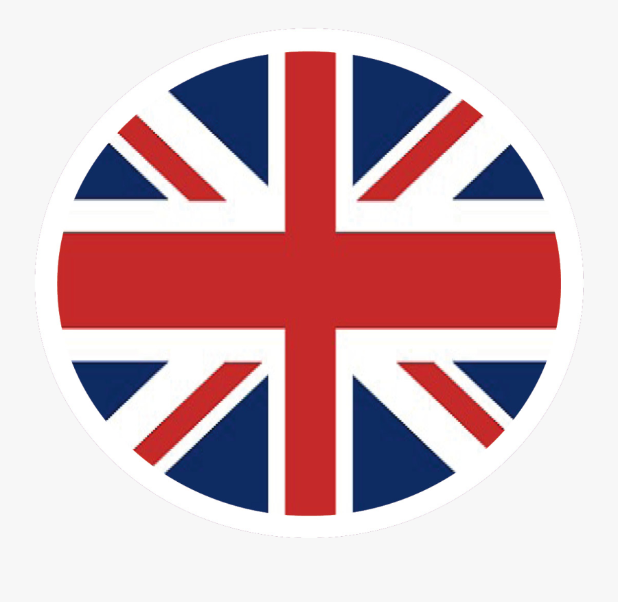 Glossy Round Icon - Round Union Jack Png, Transparent Clipart
