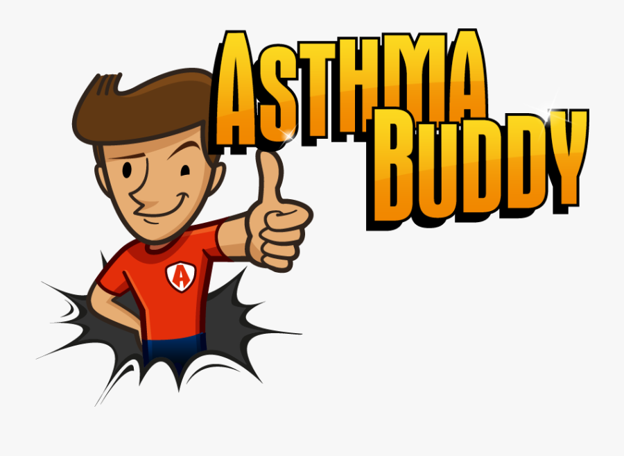 Asthma Buddy Is Back, Transparent Clipart