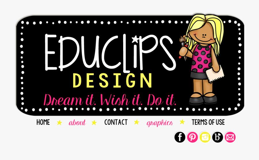 Educlips Button, Transparent Clipart