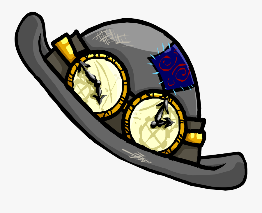 Cheap Time Travel Hat Club Penguin Wiki Fandom Powered - Club Penguin Time Travel Hat, Transparent Clipart