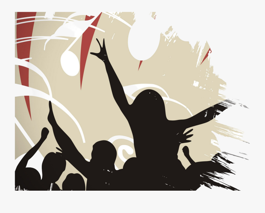 Download Picture - People Dancing, Transparent Clipart