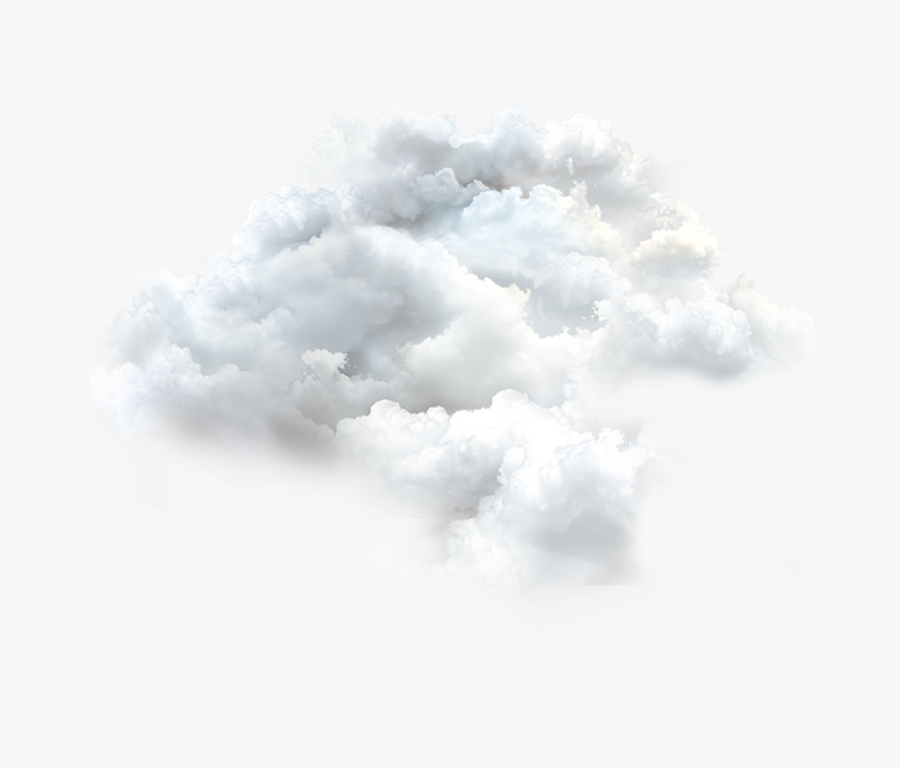 White Heavenly Clouds Png, Transparent Clipart
