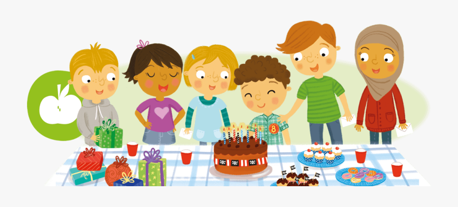 Birthday Food And Drinks, Transparent Clipart
