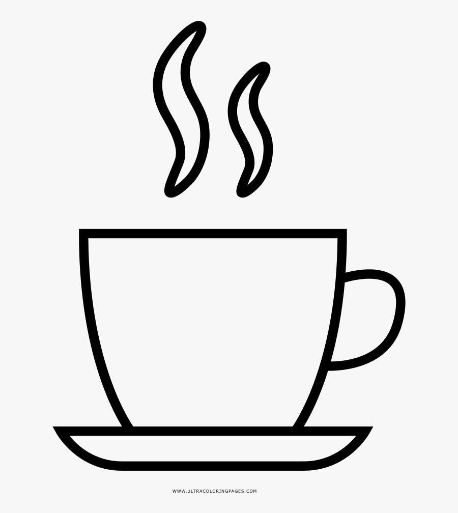 Coffee Drawing Espresso Cup For Free Download - Coffee Black And White, Transparent Clipart