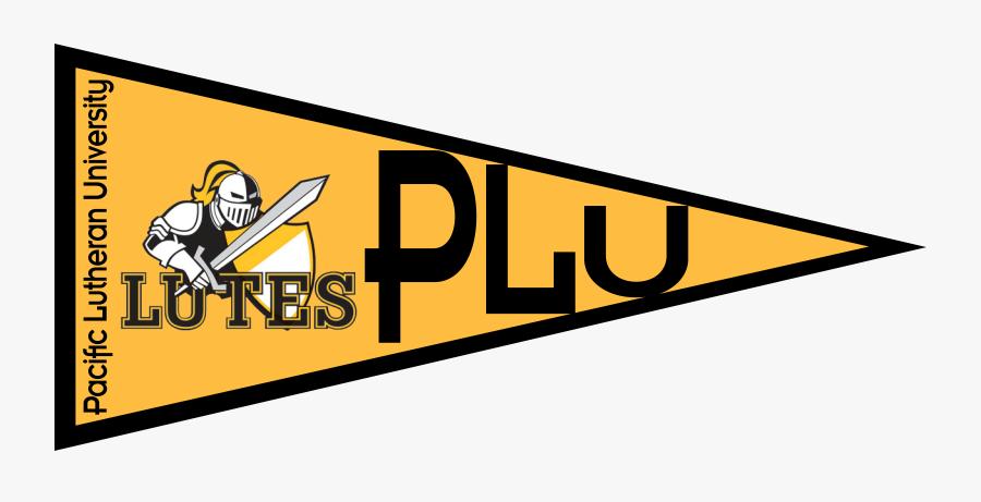 Pacific Lutheran University Gear - Pacific Lutheran University Pennant Clip Art, Transparent Clipart