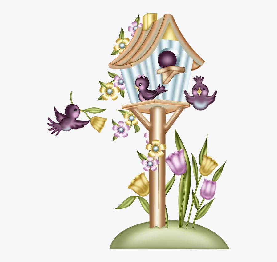 Transparent Wooden House Clipart - Desenho Colorido De Flore, Transparent Clipart
