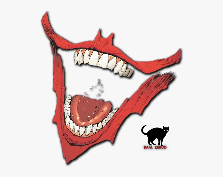 Joker Smile Png, Transparent Clipart
