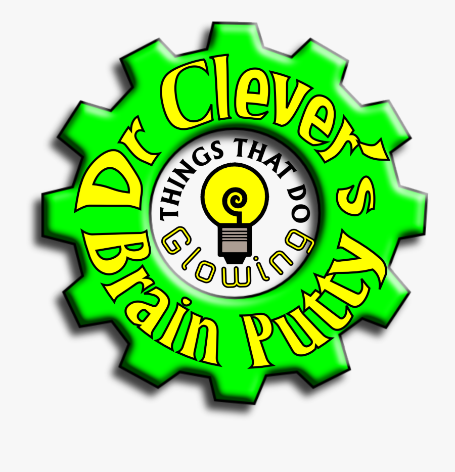 Brain Putty Mint By Dr Clever Concentration Thinking - Circle, Transparent Clipart
