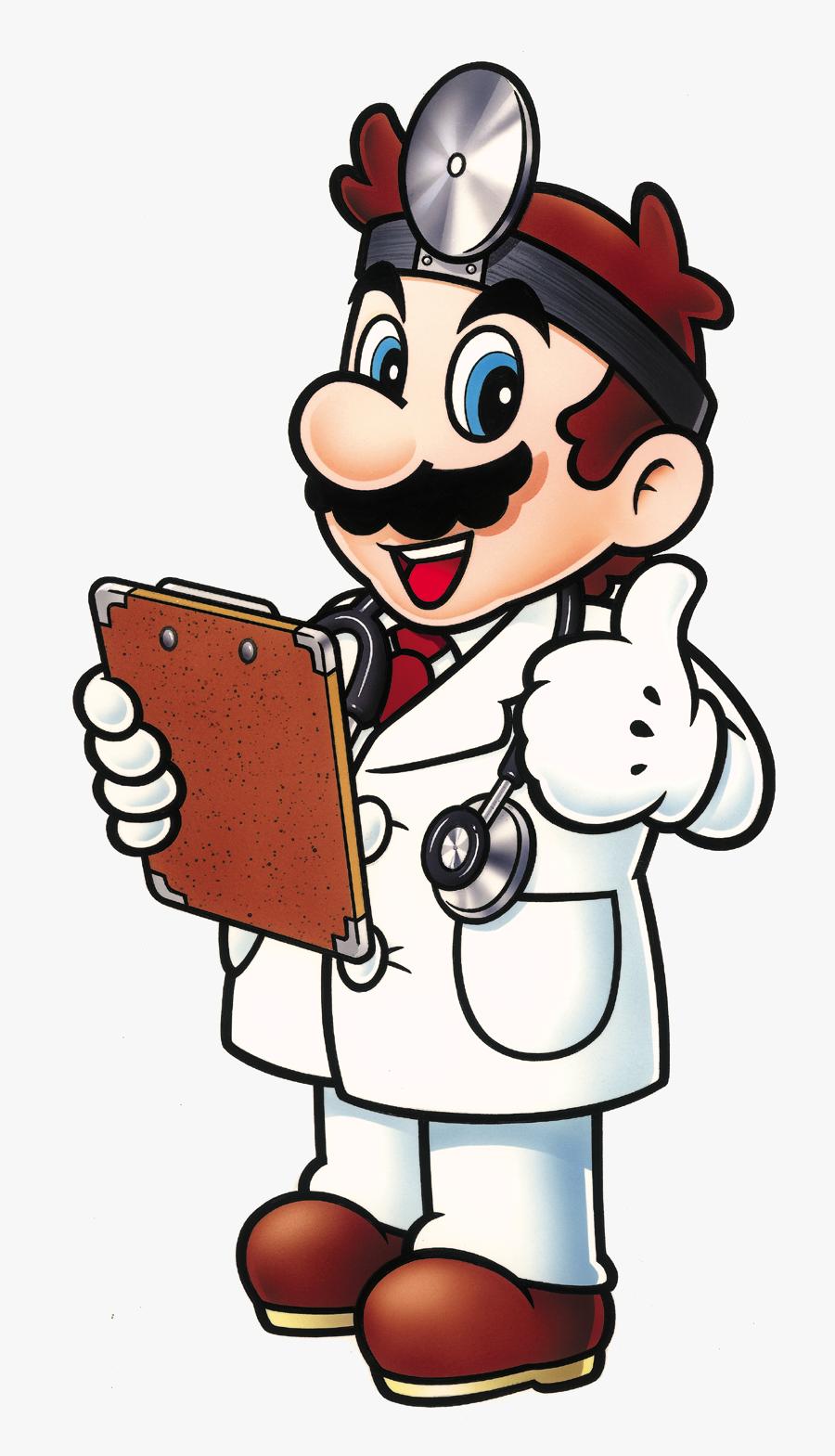 Nintendo Clipart Mario Character Dr Mario Thumbs Up Free