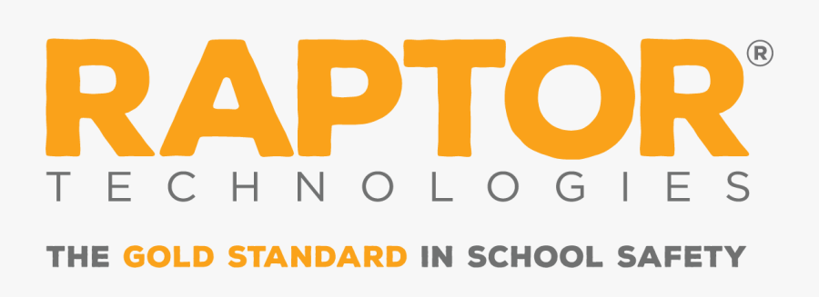 Raptor Technologies The Gold Standard In School Safety - Raptor Technologies Logo, Transparent Clipart