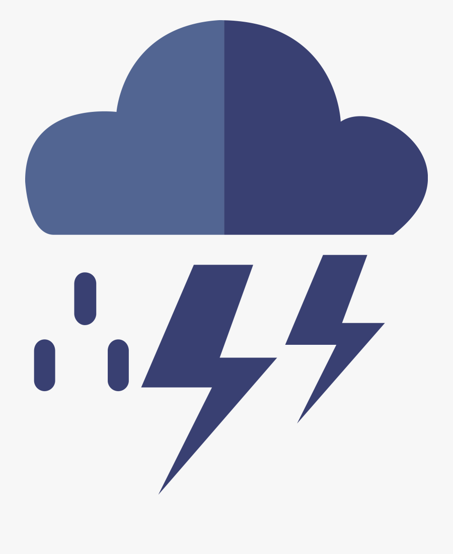 Transparent Windy Weather Clipart - Clouds Icon Png Vector, Transparent Clipart