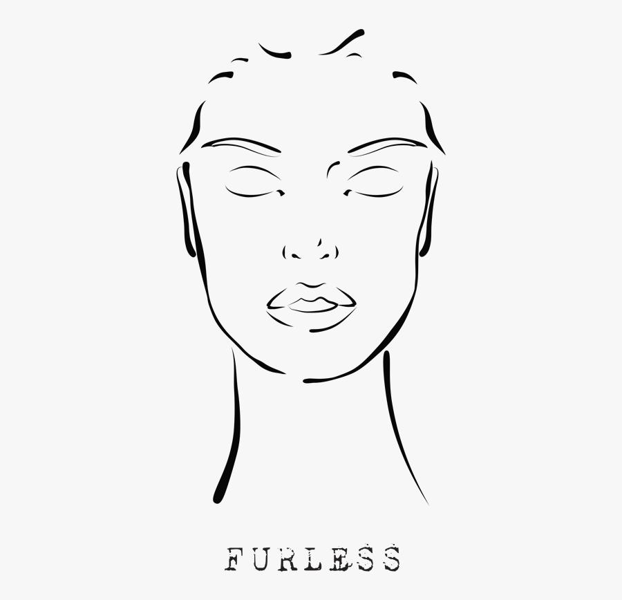Enjoy Makeup Template Face Transparent- - Face Makeup Logo Transparent, Transparent Clipart