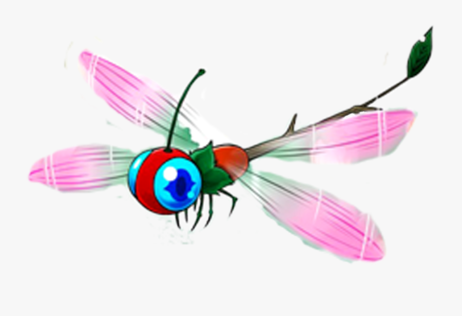 Transparent Dragonfly Png - Animated Dragonfly Insect, Transparent Clipart