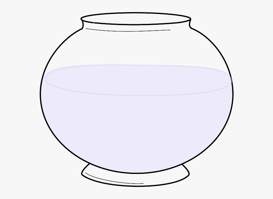 Fishbowl Clipart Fish Jar - รูป โหล ปลา การ์ตูน, Transparent Clipart