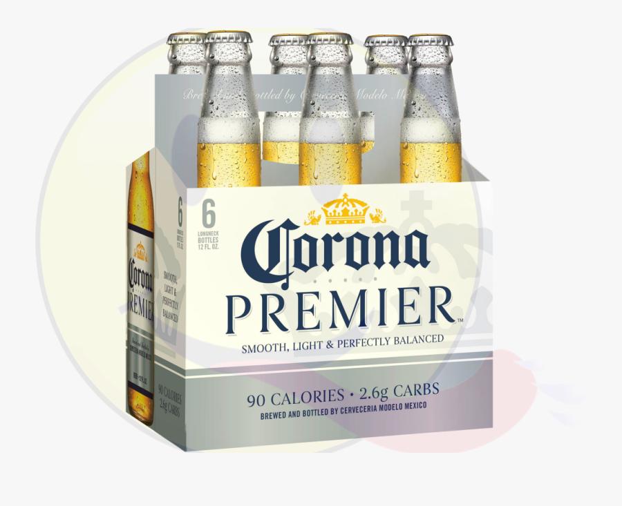 Transparent Corona Beer Clipart - Corona Premier 12 Pack, Transparent Clipart