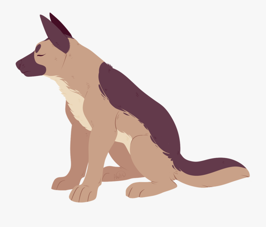 Clipart Wallpaper Blink German Shepherd Drawing Chibi Free Transparent Clipart Clipartkey