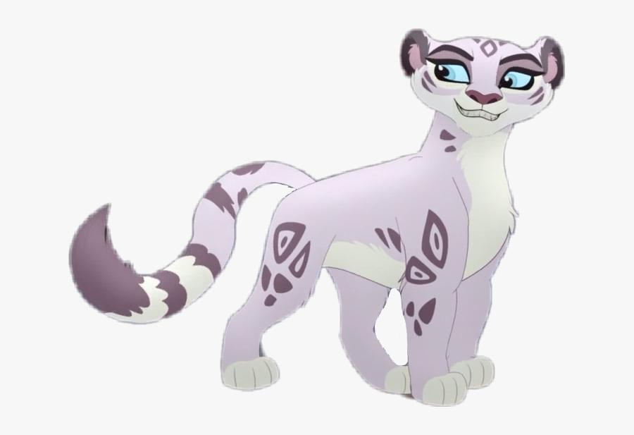 Snow Leopard Lion Guard, Transparent Clipart