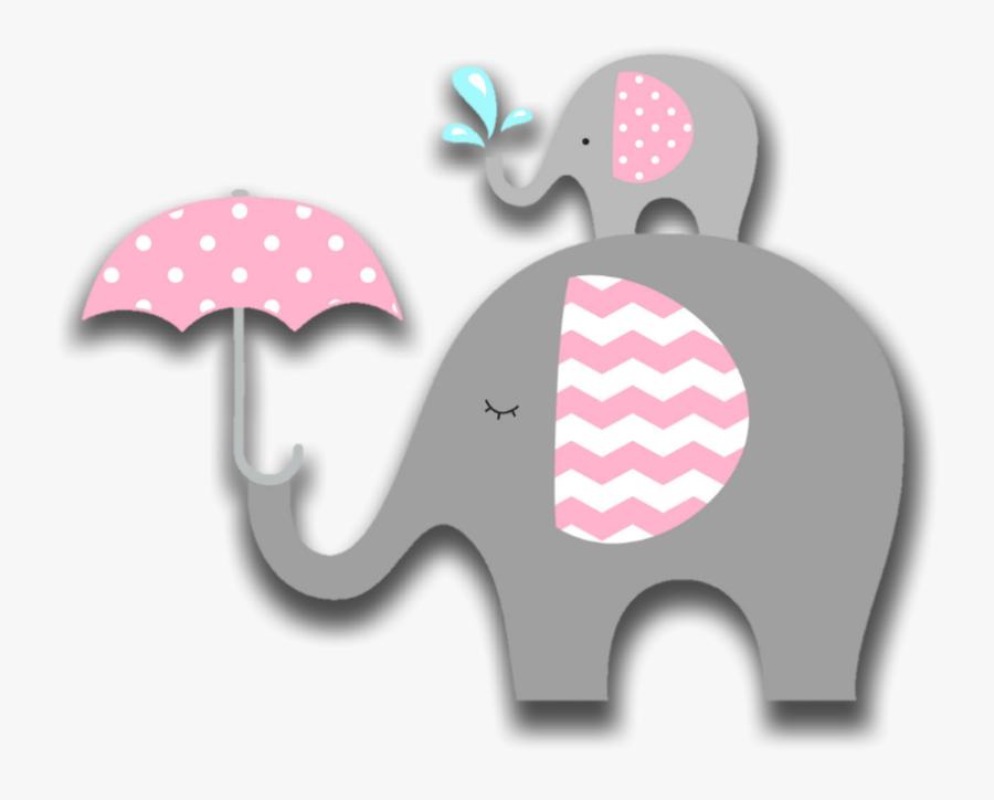 Elefante De Baby Shower, Transparent Clipart