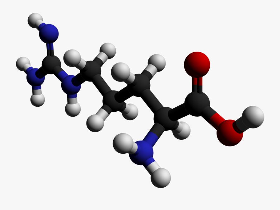 Collaboration Clipart Social Isolation - Arginine Molecule, Transparent Clipart