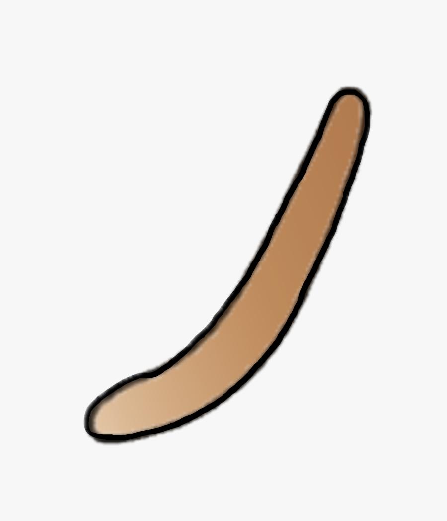 Cat Tail - Gacha Life Cat Tail, Transparent Clipart