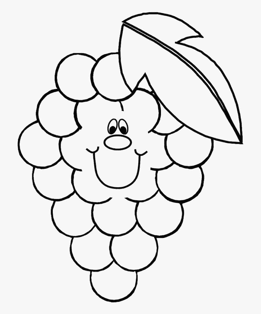 Type Healthy Food Coloring Page - Healthy Food Images For Coloring, Transparent Clipart