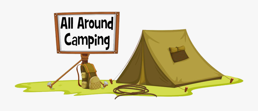 The Best Backpacking Sleeping - Camping With Transparent Background, Transparent Clipart