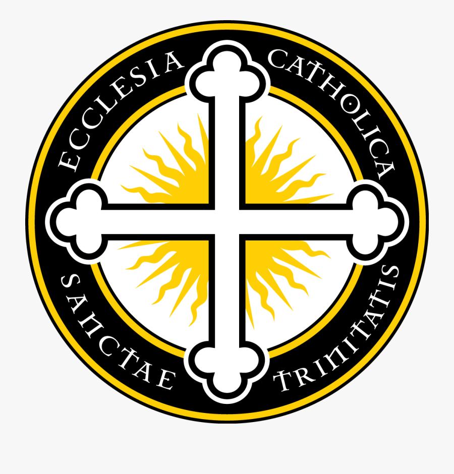 Holy Trinity Catholic Church Logo, Transparent Clipart