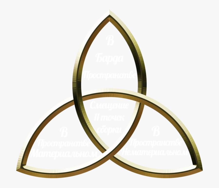 Transparent Triskelion Png - Tattoo Celtic Trinity Knot, Transparent Clipart