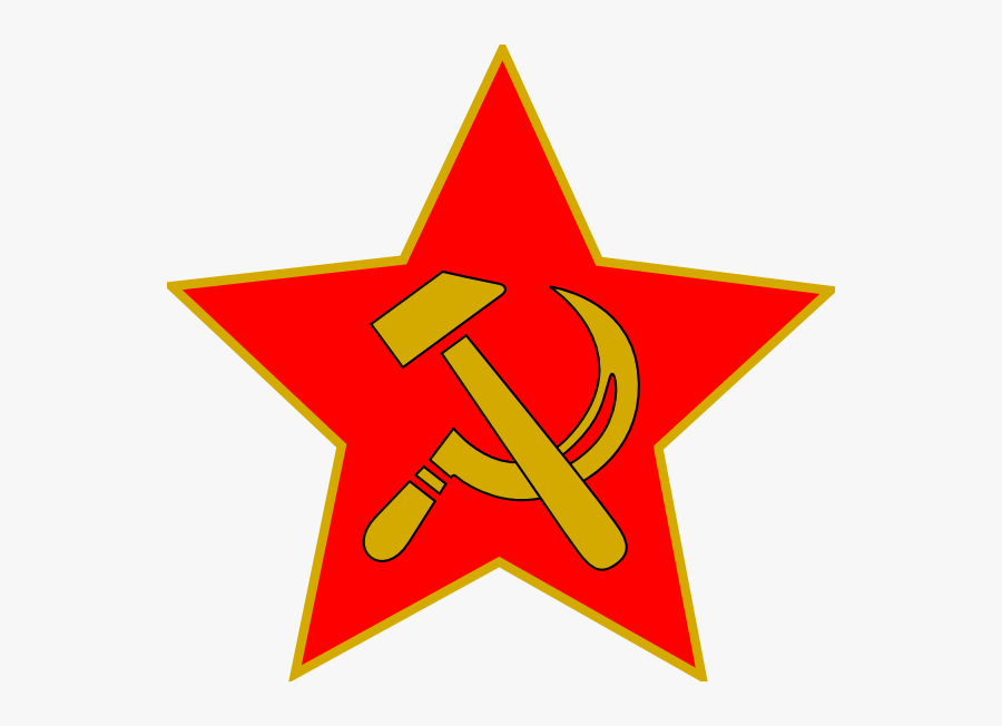 Hammer And Sickle Star Transparent, Transparent Clipart