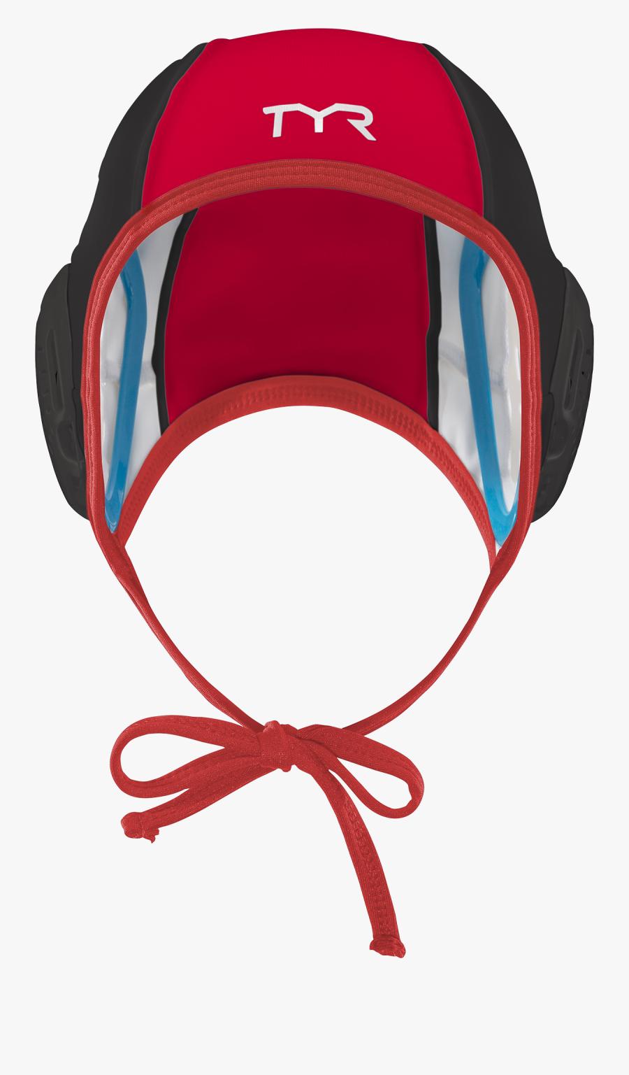 Destroyer Water Polo Goalie - Water Polo Goalie Cap, Transparent Clipart