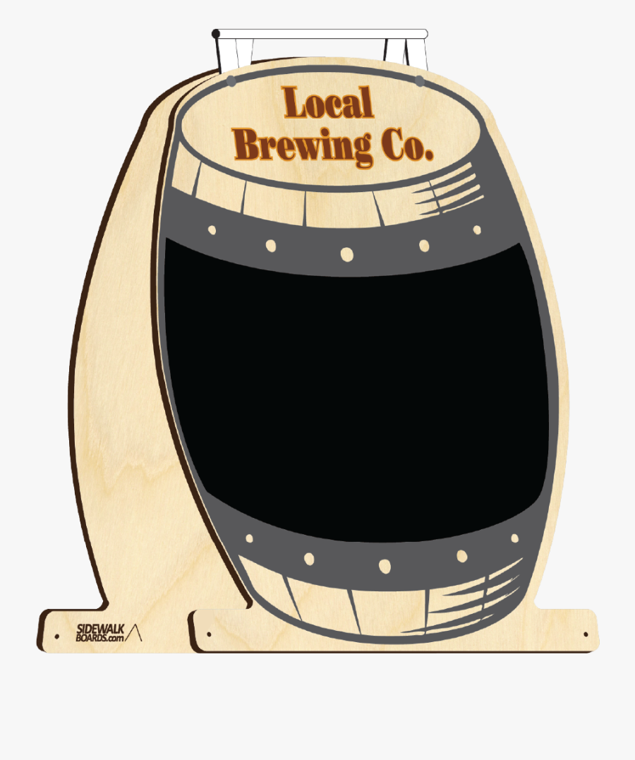 Brewery Sidewalk Boards Stock Design - Illustration, Transparent Clipart