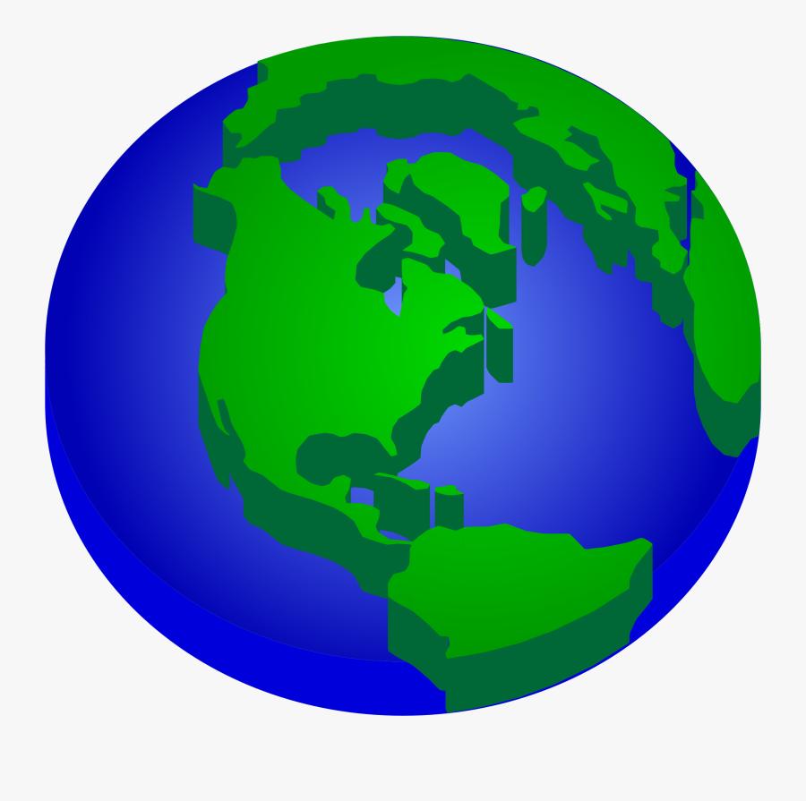 Transparent Background Earth Clipart - Earth Clip Art, Transparent Clipart