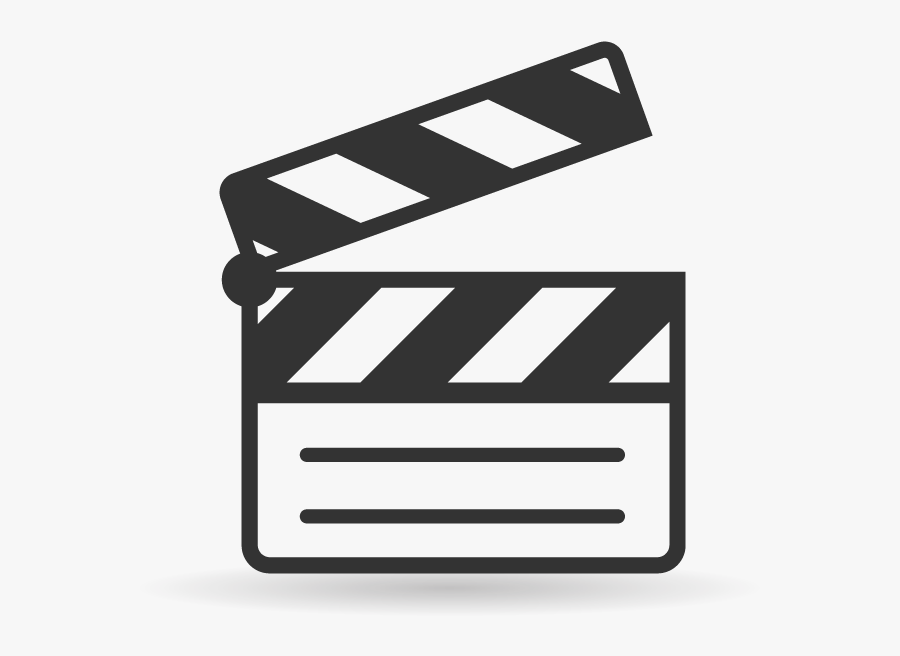 Clapperboard Film Computer Icons - Slate Film Icon Png, Transparent Clipart