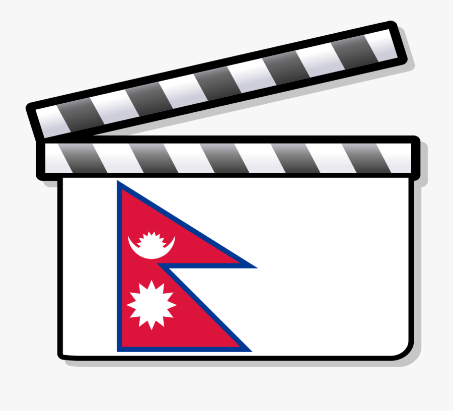 Nepal Film Clapperboard - Nepal Logo For Dream League Soccer 2019, Transparent Clipart